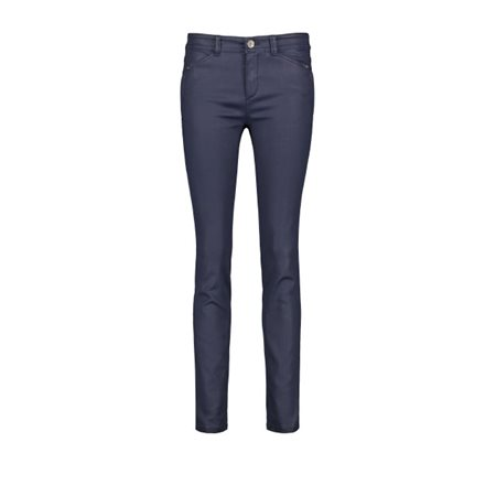 Taifun Super Skinny Hanna Jeans Navy  - Click to view a larger image