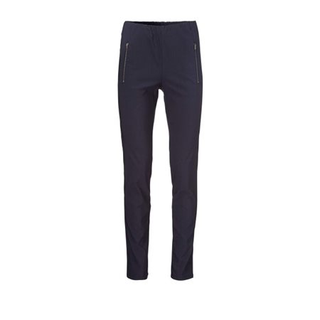 Masai Pearl Fitted Trousers Navy  - Click to view a larger image
