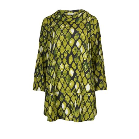 Masai Gracila Tunic Lime  - Click to view a larger image