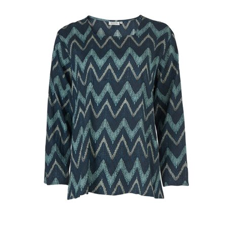 Masai Bea Top Blue  - Click to view a larger image