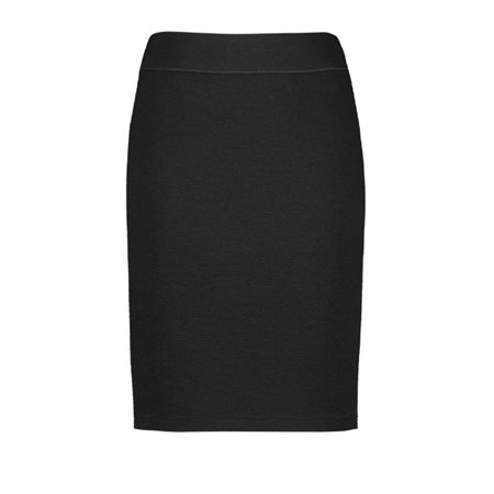 Gerry Weber Lined Textured Skirt Black  - Click to view a larger image