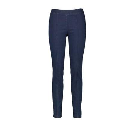 Gerry Weber Trousers With Vertical Pintucks Blue  - Click to view a larger image