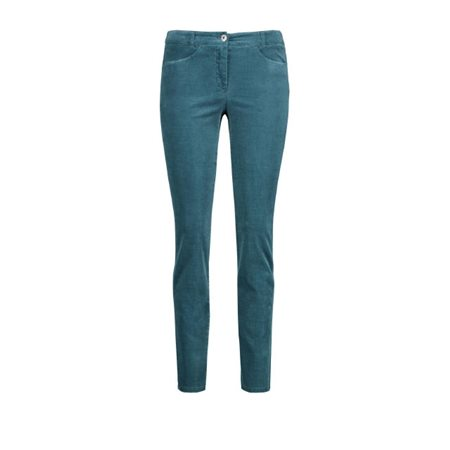 Gerry Weber Stretch For Comfort Trousers Teal  - Click to view a larger image