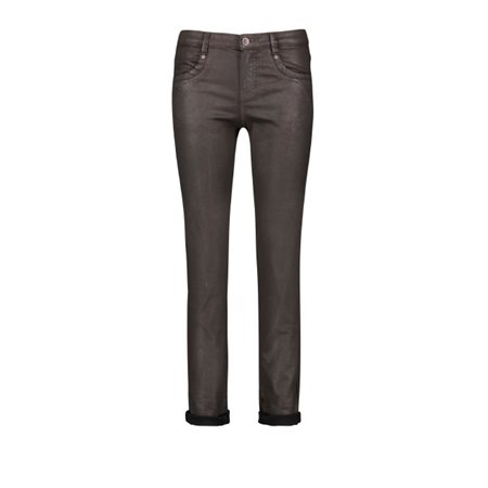 Taifun Skinny Jeans Dark Chocolate  - Click to view a larger image