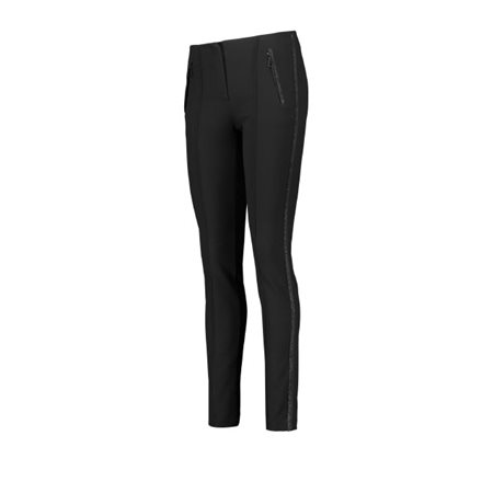 Taifun Skinny Stretch Trousers Black  - Click to view a larger image