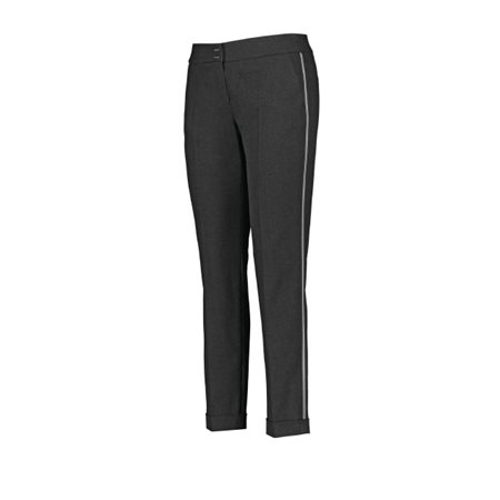 Gerry Weber Trousers With Tuxedo Stripes Charcoal  - Click to view a larger image