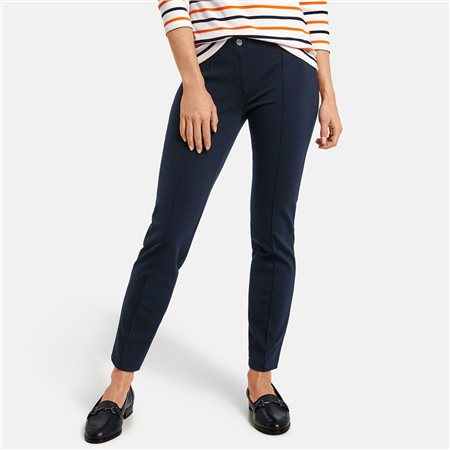 Gerry Weber Luxe Trousers Navy  - Click to view a larger image