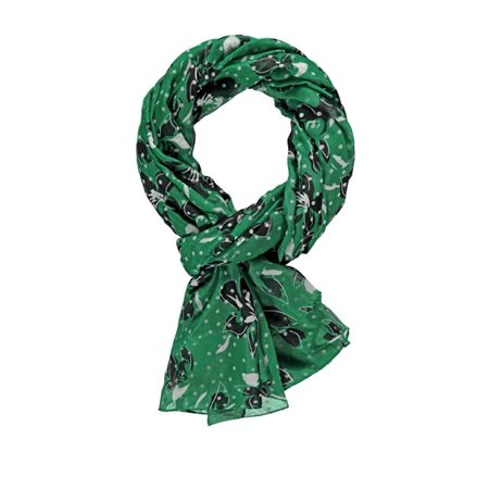 Gerry Weber Mixed Pattern Scarf Green  - Click to view a larger image
