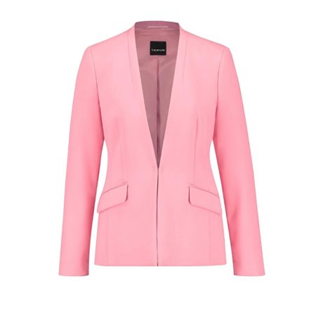 Taifun Comfy Stretch Blazer Pink  - Click to view a larger image