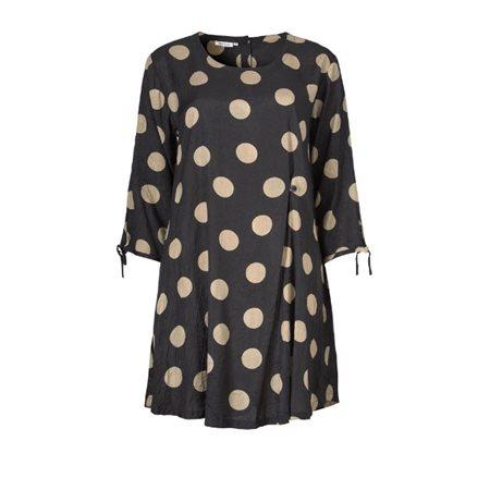 Masai Dotty Gydella Tunic Khaki  - Click to view a larger image