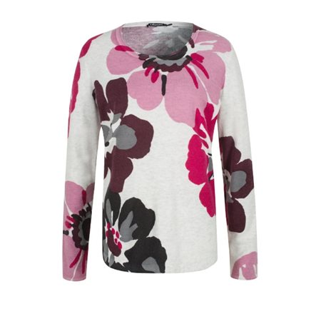 Olsen Floral Print Jumper Pink  - Click to view a larger image