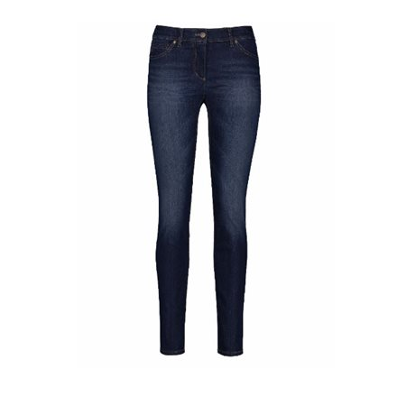 Gerry Weber Skinny Short Leg Jeans Dark Blue  - Click to view a larger image