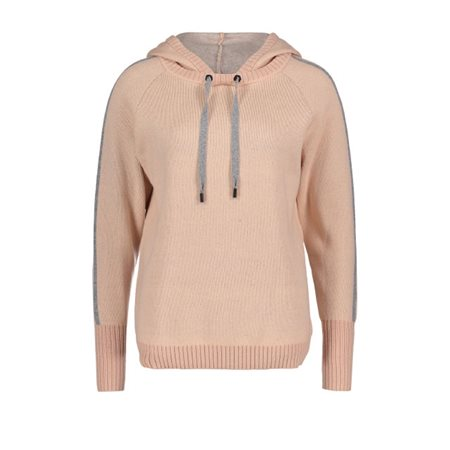 Betty & Co Hooded Jumper Peach  - Click to view a larger image
