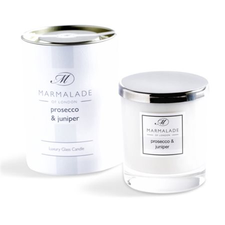 Marmalade Of London Prosecco & Juniper Large Glass Candle  - Click to view a larger image