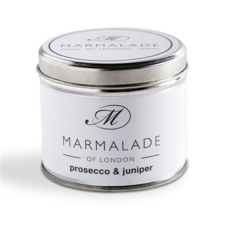 Marmalade Of London Prosecco & Juniper Medium Tin Candle  - Click to view a larger image