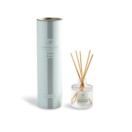 Marmalade Of London Freesia & Pear Travel Reed Diffuser  - Click to view a larger image