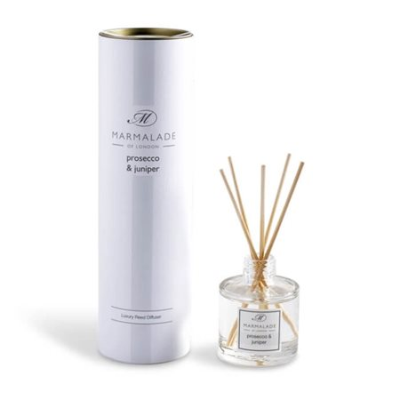 Marmalade Of London Prosecco & Juniper Travel Reed Diffuser  - Click to view a larger image