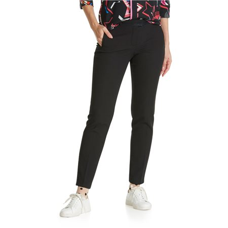 Betty & Co Tailored Trousers Black  - Click to view a larger image