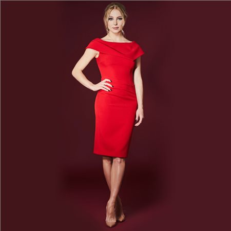 Mellaris Olympia Dress Red  - Click to view a larger image