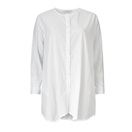 Masai Crinkle Shirt White  - Click to view a larger image