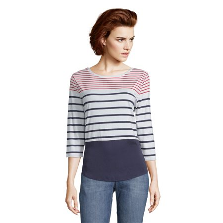 Betty & Co Block Striped Top  - Click to view a larger image