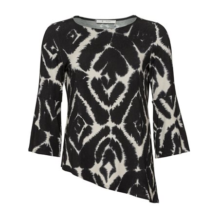 Monari Abstract Print Top  - Click to view a larger image