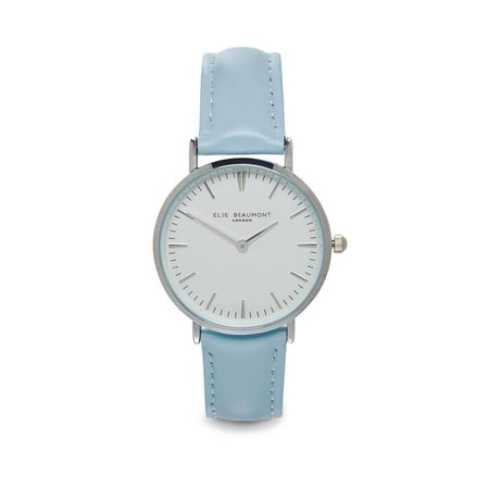 Elie Beaumont Oxford Small Face Blue Strap  - Click to view a larger image