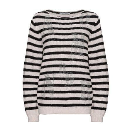 Monari Striped Knit Jumper  - Click to view a larger image