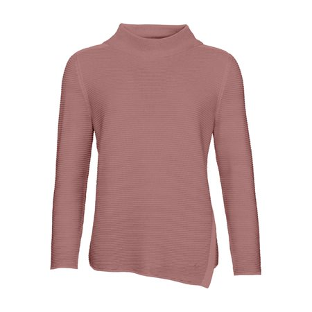 Monari High Collar Jumper Pink  - Click to view a larger image