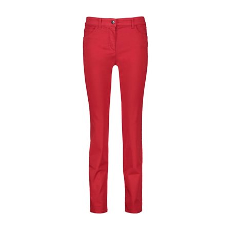 Gerry Weber Five Pocket Trousers Red  - Click to view a larger image