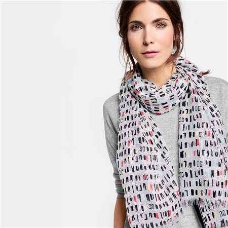 Gerry Weber Geometric Print Scarf  - Click to view a larger image