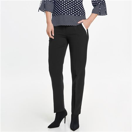 Gerry Weber Contrast Piping Trousers  - Click to view a larger image