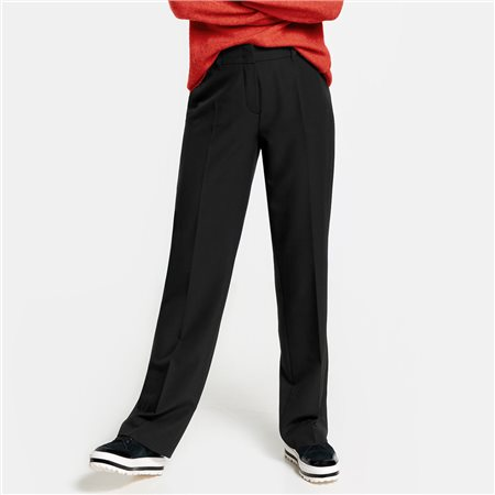 Gerry Weber Classic Trousers Black  - Click to view a larger image