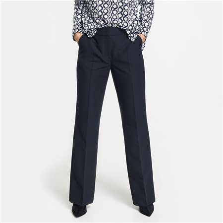 Gerry Weber Classic Trousers Navy  - Click to view a larger image