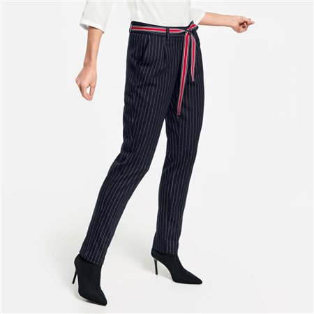 Gerry Weber Pinstripe Trousers  - Click to view a larger image