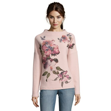 Betty & Co Floral Print Jumper  - Click to view a larger image