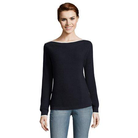 Betty & Co Bateau Neckline Knit Jumper  - Click to view a larger image