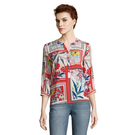 Betty & Co Bright Floral Blouse  - Click to view a larger image