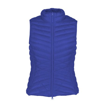 Betty Barclay Lightly Padded Down Gilet Blue  - Click to view a larger image