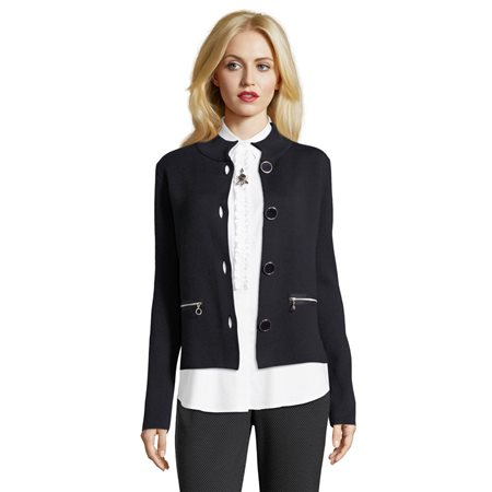 Betty Barclay Cardigan Jacket Dark Blue  - Click to view a larger image
