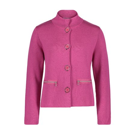Betty Barclay Cardigan Jacket Pink  - Click to view a larger image