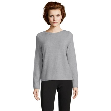 Betty Barclay Fine Knit Jumper Grey  - Click to view a larger image