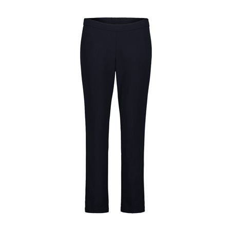 Betty Barclay Crepe Trousers Navy  - Click to view a larger image