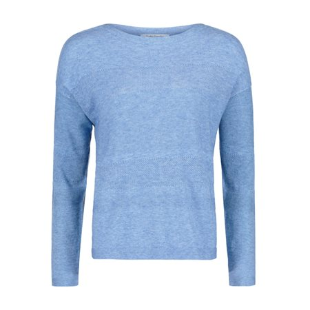 Betty Barclay Fine Knit Jumper Blue  - Click to view a larger image