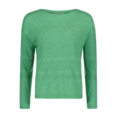 Betty Barclay Fine Knit Jumper Green  - Click to view a larger image