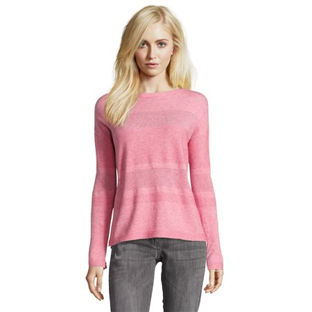 Betty Barclay Fine Knit Jumper Pink  - Click to view a larger image