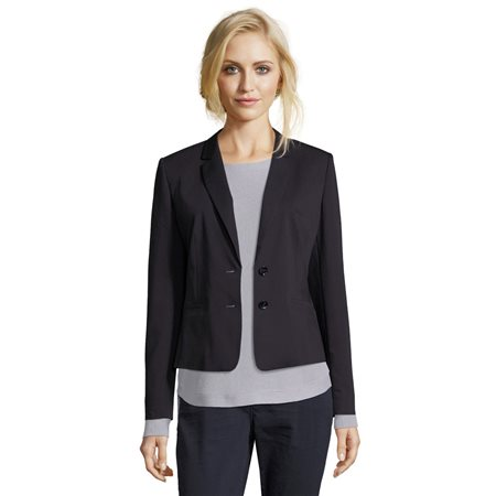 Betty & Co Smart Blazer Dark Blue  - Click to view a larger image