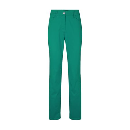 Olsen Slim Fit Cotton Jeans Green  - Click to view a larger image