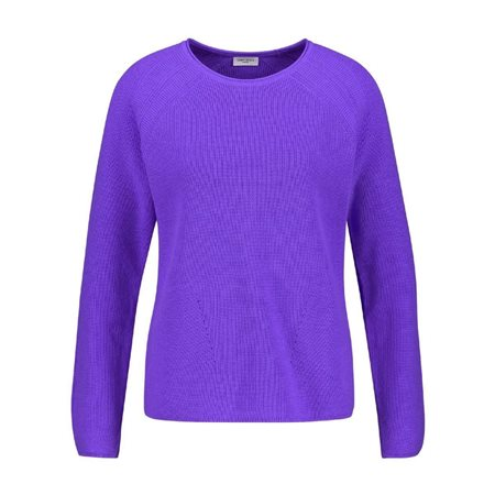 Gerry Weber Cotton Jumper Purple  - Click to view a larger image
