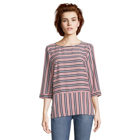 Betty & Co Striped Blouse Pink  - Click to view a larger image